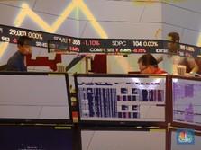 Investor Lakukan Aksi Beli Selektif, IHSG Sesi I Naik Tipis