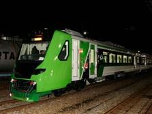 Kereta Bandara Minangkabau Mulai Beroperasi Hari Ini