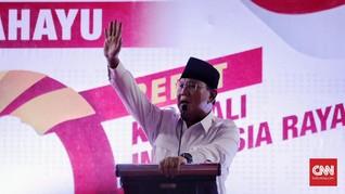 Prabowo Sebut Utang di Era Jokowi Capai Rp9 Ribu Triliun