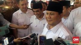 Prabowo Doakan KPU Kuat Emban Tugas Pemilu 2019