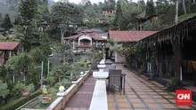 KLHK Bongkar Vila Liar di Puncak Bogor