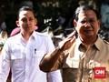Cawapres Pendamping Prabowo Mengerucut pada 3 Nama