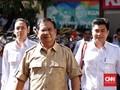Survei: Prabowo Dinilai Tak Perlu Maju Lagi di Pilpres 2019