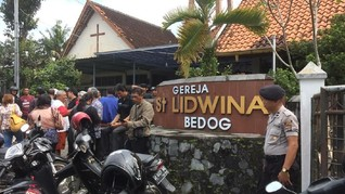 Organisasi Agama Desak Polisi Usut Serangan Gereja Sleman