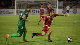 Winger Persija Tak Terbuai Pujian Pelatih Tampines Rovers