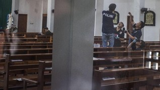 MUI Kutuk Penyerangan Gereja St Lidwina Sleman