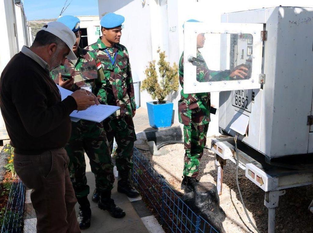 Adapun objek pemeriksaan dari Tim UNIFIL meliputi segala Major Equipment dan Self Sustainment yang dimiliki Satgas Indobatt Konga XXIII-L. Pool/Konga.