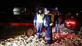 Saat insiden terjadi pesawat sedang menuju Kota Orsk, di Pegunungan Ural. (Sefa Karacan-Anadolu Agency)