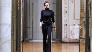 Peragaan Perpisahan Victoria Beckham di New York Fashion Week