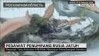 Pesawat Penumpang Rusia Jatuh