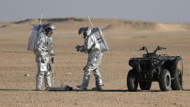 NASA: Sebagian Orang Tak Siap Temukan Kehidupan di Mars