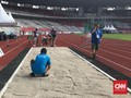 Bak Pasir Atletik untuk Asian Games 2018 Belum Direnovasi