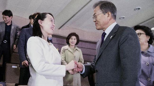 Korsel Bertemu Kim Jong-un, Rating Presiden Moon Naik