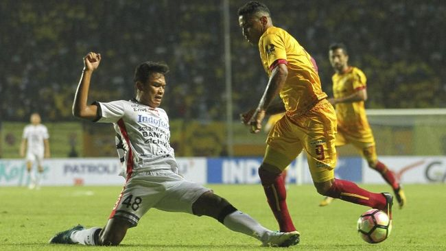 Live Streaming Bali United vs Sriwijaya FC di Piala Presiden