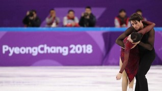 FOTO: Kanada Rebut Emas Figure Skating Beregu
