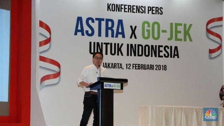PT Astra International Tbk menyuntikkan dana US$ 150 juta ke Go-Jek