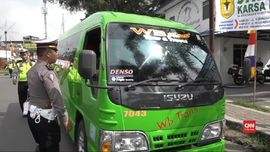 VIDEO: Banyak Jalur Ekstrem, Polres Garut Razia Bus