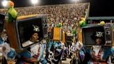 Ketegangan dan suasa semakin mencekam setelah pemerintah lokal memutuskan menambah pasukan kepolisian dengan 17 ribu pasukan.(REUTERS/Sergio Moraes)