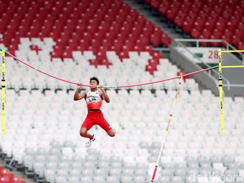 Tak ada atlet luar negeri yang ikut menjajal arena lompat galah