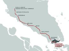 Mengintip Proyek Kereta Cepat Malaysia-Singapura Rp 231 T