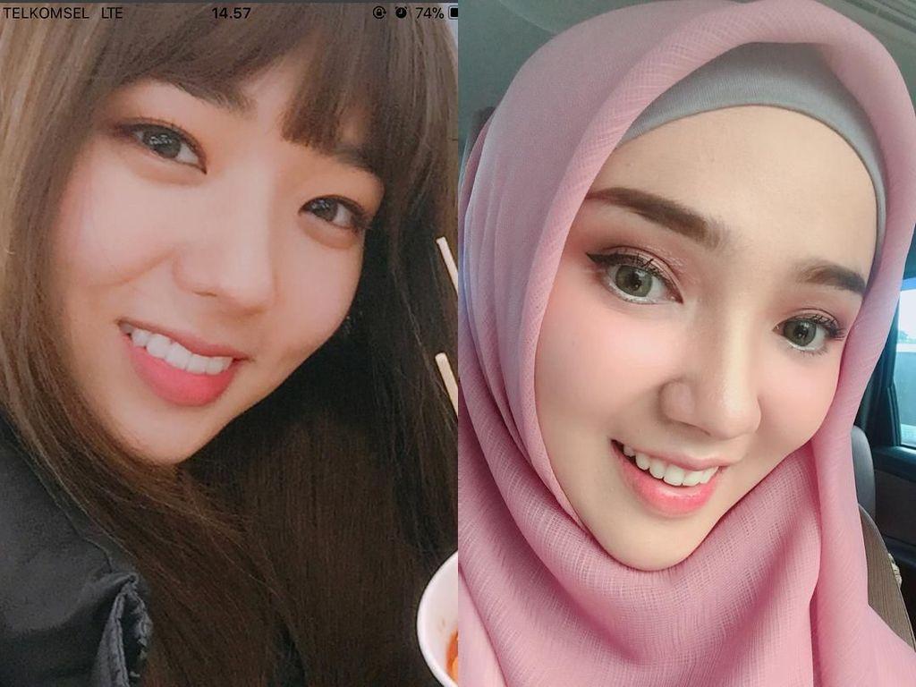 Hijabers Indonesia Ini Disebut Mirip Aktris Korea, Setuju?