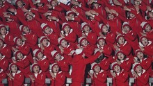 'Wajah' Budak Seks di Balik Keceriaan Cheerleader Korea Utara