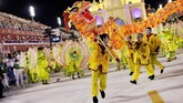 Walikota Rio de Janiero, Marcelo Crivella mengatakan pada pembukaan karnaval, hati penduduk kota tersebut terkoyak akibat banyaknya kejadian kekerasan yang terus terjadi. (REUTERS/Ricardo Moraes)