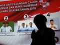 Lebih dari Separuh Pemilih di Sulsel Belum Tentukan Pilihan