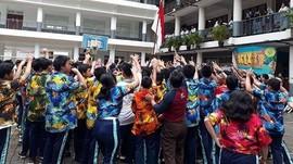 Flashmob Asyik 233 Remaja SMP