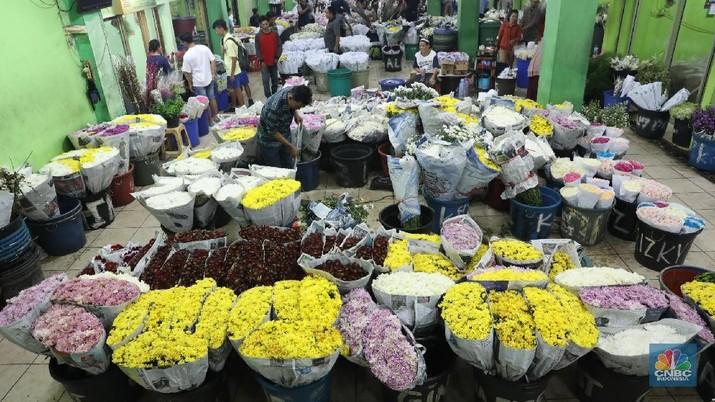 Valentine Momentum Pedagang Bunga Tingkatkan Omset