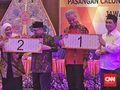 Ganjar-Yasin Nomor 1, Sudirman-Ida Nomor 2 di Pilg   ub Jateng