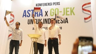 Valuasi Gojek Kalahkan Kapitalisasi Pasar Indosat dan XL