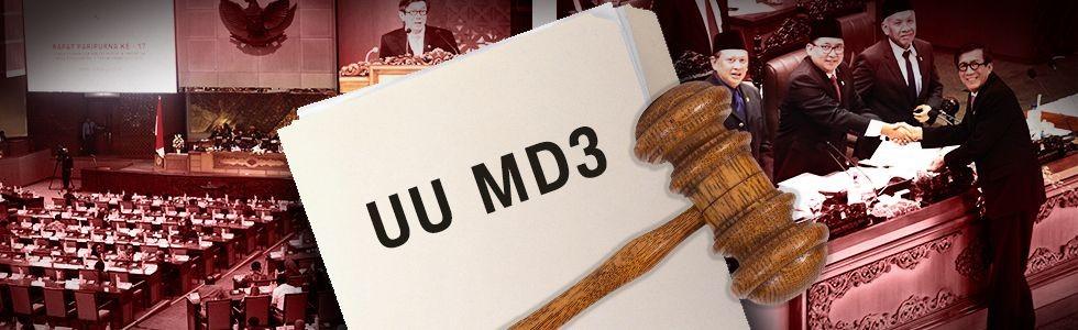 Polemik UU MD3