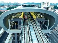 McLaren Pasang Teknologi F1 di Kereta Bawah Tanah Singapura