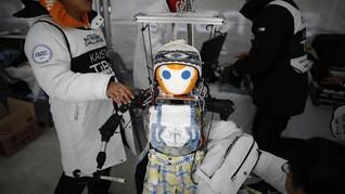 FOTO: Robot 'Ambil Alih' Olimpiade Musim Dingin 2018