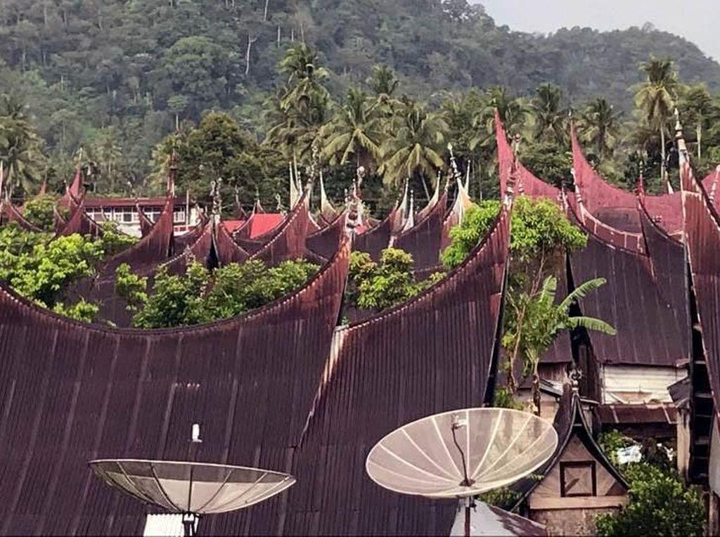 Kementerian PUPR juga telah memprogramkan restorasi kawasan Kampung Saribu Rumah Gadang tahun 2018 dan 2019 melalui DIPA Direktorat Jenderal Cipta Karya. Pool/Kementerian PUPR.