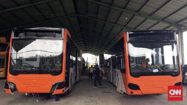 Transjakarta Siapkan 300 Bus 'Low Entry'