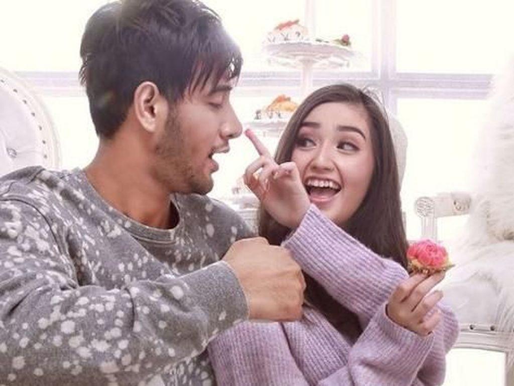 Ranty bahkan menuliskan bahwa ia telah jatuh cinta berkali-kali, hanya kepadanya dan ia pun ingin terus memiliki Ammar Zoni setiap hari. (Dok. Instagram)