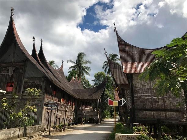 Mau Dipercantik Jokowi, Ini Lho Kampung Adat Saribu Rumah Gadang