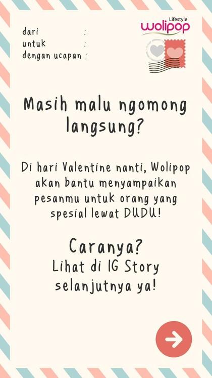 So Sweet, Ini 8 Ucapan Cinta Dari Kamu Untuk Si Dia di Hari Valentine