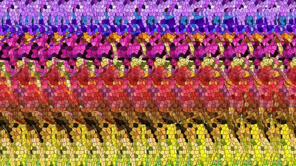 Uji Ketajaman Mata Lewat Stereogram, Bisa Temukan Misterinya?