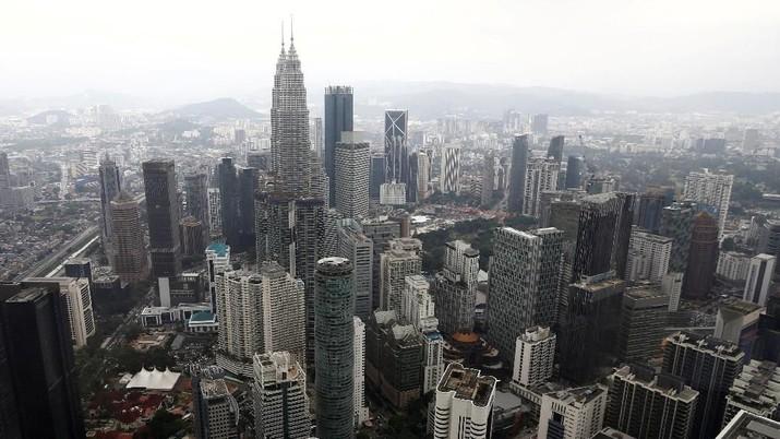 Pemandangan langit kota Kuala Lumpur di Malaysia 7 Februari 2018. REUTERS / Lai Seng Sin