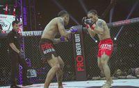 Ternyata ia tengah menggeluti dunia bela diri Martial Mixed Art. Foto: Instagram @randpunk