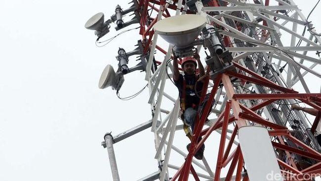 TOWR Sektor Telekomunikasi Tumbuh, Emiten Menara Ketiban Untung