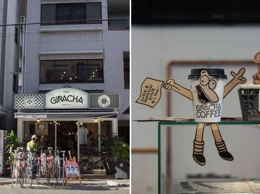 Menggabungkan tiga konsep yang menarik ke dalam kedai kopi, rata-rata harga kopi di Giracha Coffee berkisar mulai dari 300 Yen - 400 Yen, atau sekitar Rp. 39,000 - Rp.52,000. Foto: Istimewa