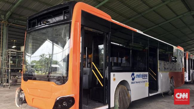 Bus Baru Transjakarta, Rasa Mirip Bus di Singapura