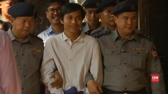 VIDEO: Sidang Dua Wartawan Peliput Pembunuhan 10 Rohingya