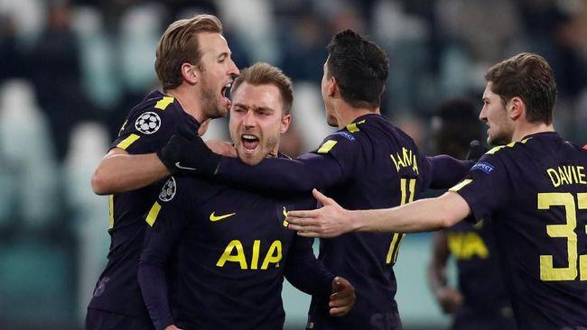 Juventus Diimbangi Tottenham Hotspur 2-2