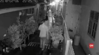 VIDEO: Terekam CCTV, Pelaku Pelecehan di Cipinang Tertangkap