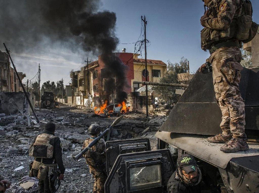 Konflik di Kota Mosul - karya Ivor Prickett untuk New York Times. Foto: World Press Photo/The Washington Post